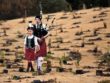 Pipers opening Living Legends 2011