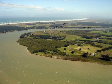 Aerial view of Otatara south