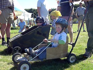 Winning Kart at the 2006 Otatara Forest Festival